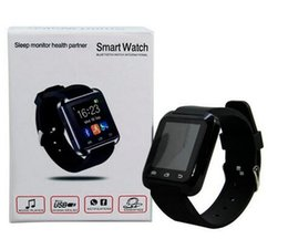 Wholesale Gps Watch Tracker Cell Phone - smartwatch smart watch SmartWatch Touch screen WristWatch For iPhone Samsung Android Cell Phone Smartphones