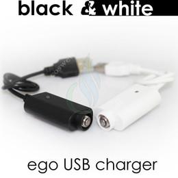 USB ego Chargeur électronique cigarette Chargeur avec IC protège ego T twist evod vision spinner 2 mini mods de vapeur Batterie Blanc Chargeurs noirs ? partir de fabricateur