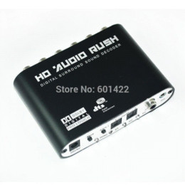 Wholesale Digital Analog Dts - Digital Dolby DTS AC3 Optical to 5.1 Analog Audio Gear Sound Decoder SPDIF AC113 decode flash