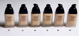 Wholesale Natural Moisturizer Oily Skin - Makeup Brand Foundation Perfection Lumiere Foundation SPF10 Long-Wear Flawless Fluid Makeup 30ML Have 6 Different Colors