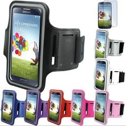 Wholesale S4 Mini Casing - WaterProof Sport Gym Running Armband Protector Belt Soft Case Cover For iPhone 6 iphone 6 plus Samsung S3 S4 S5 MINI NOTE 2 NOTE 3 LG G3