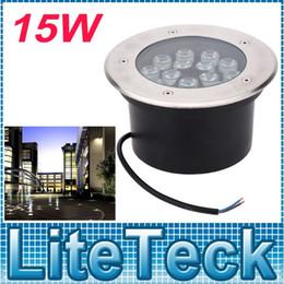 Wholesale Led Floor Tracking - AC85-265V Outdoor Landscape Light 15W LED Buried Lamp Spot Lighting IP67 For Ground Garden Path Floor Underground Yard order<$18no track