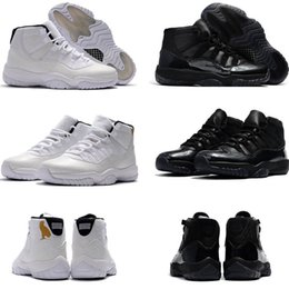 Wholesale Men Land - High Quality Basketball Shoes Men 11s Olympic Gold Bred Space 11s Concords XI Moon Landing Athletics Sneakers