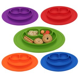 Wholesale Character Toys Wholesale - cute Baby kids Silicone Frog Animal Bowls Food Grade Silicone Non slip anti throw tableware Bowl toys for little Baby wholesale
