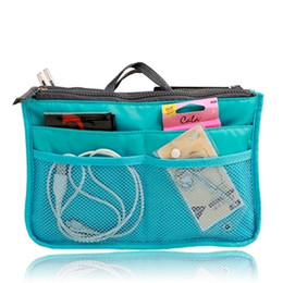 Wholesale Handbag Organiser Purse - Organiser pouch purse bag handbag Travel wallet holder cosmetic pocket toiletry
