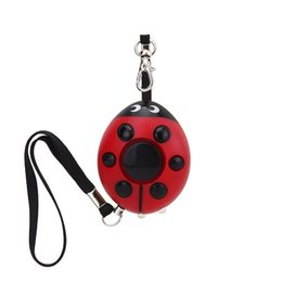 Wholesale Self Defense For Women - Cute self defense personal alarm keychain security alarm emergency panic alarm with LED light for women children Q0279