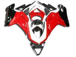 Carenados para Ducati 1098 848 1198 2007-2011 1098/848/1198 07 08 09 10 11 Moldeo por inyección Partes de la carrocería de la motocicleta Plástico ABS Rojo Blanco Negro desde fabricantes
