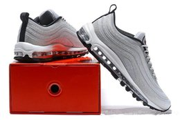 Wholesale Men S Max Shoes - Wholesale - Swarovskii X Maxes 97 LX Rhinestones Men&039;s and Women&039;s Designer Flat Casual Shoes Low Top Sneakers Outdoor Sport