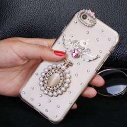 Wholesale Bling Phone Designs - Luxury Rhinestone Diamond Bling Crystal Perfume Flower design phone Cases Hard PC Cove for iphone7 7plus Iphone5S iphone 6 6S 6 6S PLUS