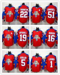 d855554c4 MENS WOMENS CHILDREN Florida Panthers 22 Thornton 51 Campbell 19 Upshall 16  Barkov 5 Ekblad 1 Luongo Hockey Jerseys customized any name no.