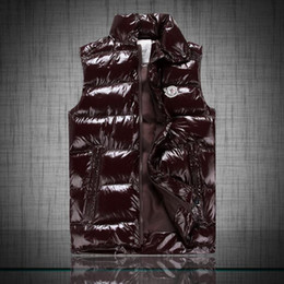 Wholesale Glossy Down - Fall-Bodywarmer winter warm ultra light down vest men sleeveless jacket doudoune sans manche homme chaleco hombre glossy gilet men