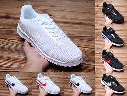 Wholesale Nylons Toe - 2018 High Quality CORTEZ ULTRA MOIRE shoes Drop plastic breathable couples running shoes cortez nylon size 36-44