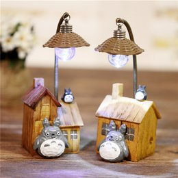 home light kit Rebajas Anas Glow Model Toys Kit Accesorios de decoración del hogar Totoro LED iluminación Renergy Reading Night Light Mejor regalo de cumpleaños