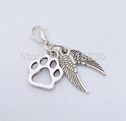 50Pcs Tibetan Silver Girl Charms Pendant Fit Bracelet 21.5x15mm