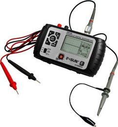 Wholesale Handheld Digital Multimeter Oscilloscope - Free shipping MINI OSCILLOSCOPE HANDHELD DIGITAL SCOPEMETER POCK With Multimeter