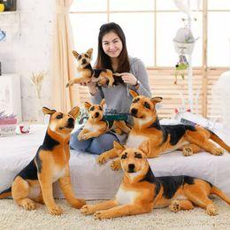 Wholesale Stuffed Dog Animal Toys - Dorimytrader New 90 Super Lovely Stuffed Soft Plush Giant Simulated Animal Dog Toy, Free Shipping DY60648