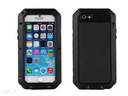 Wholesale Iphone Gorilla Glass Cases - For iphone 6 Gorilla Glass Aluminum Metal Case Premium Protection for iPhone 5s 6 6s plus 5.5 with retail box