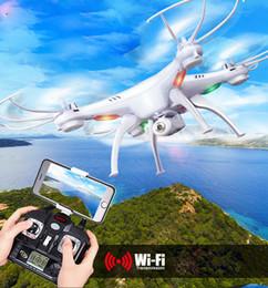 2019 câmera remota quadcopter Drones de Drone Quadcopter Zangão Drone de Câmera de Controle Remoto Hd Câmera Quadcopter Drones Syma X5sw Wifi Rc Zangão Helicóptero Quadcopter Fpv Com Câmera câmera remota quadcopter barato