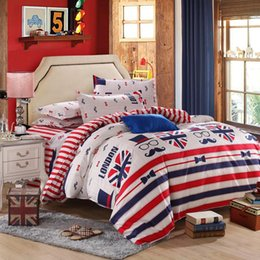 Wholesale Boys Full Size Comforter - kids boy girl new 3 4 pcs cotton bedding set Bed bed Sheet Quilt Duvet Covers PillowCase Bedclothes Bed Linen 3 size