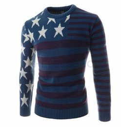 Wholesale Mens Cardigan Sweaters Xl Black - Clothing Men 2017 Fashion Sweater Simple Solid Color O-Neck Slim Fit Casual Pullover Men Sweaters Knitting Mens