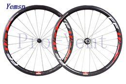 Wholesale Road Bike Race Wheels - 2016 FFWD F4R paint 700c 38mm full carbon fiber road bike wheels bicycle bicicleta racing Wheelset riml F5R F6R