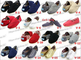 Wholesale Chocolate Cottons - HOT Size 35-45 Wholesale Brand Fashion Women Solid sequins Flats Shoes Sneakers Women and Men Canvas Shoes loafers casual shoes Espadrilles