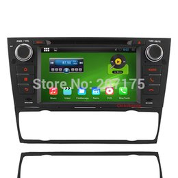 Wholesale Bmw Gps Dvd Player - Android 4.4.4 Car DVD for BMW 3 Series E90 E91 E92 E93 2006-2011 with HD 1024*600, A9 1.6GHz,Wifi,3G,
