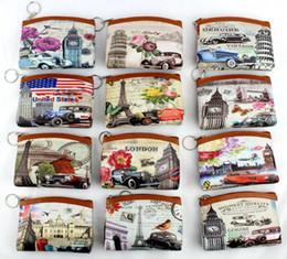 Wholesale Womens Vintage Purses - Fashion Womens Lady Change purse coin Bag Short Wallet Card Holders Clutch Handbag