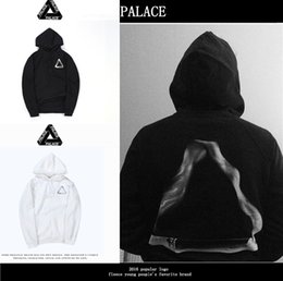 Wholesale China Fashion Men Hoodies - Palace life smoke circle triangle hoodie China has hip hop Wu Yi Fan hooded sweater with men and women