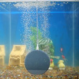 59da7bab541 Mini Acquari Accessori Pompa d aria Bubble Stone Aeratore per acquario Fish  Tank Pump Hydroponic Oxygen Plate 4 8 12   15cm le pompe dell acquario del  pesce ...