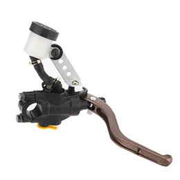 Wholesale Aprilia Brakes - Motorcycle Brake Master Cylinder 7 8 Inch Handlebars hydraulic brake Black Right