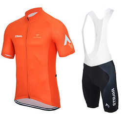 Wholesale cycle jersey men - Strava Summer Cycling Jerseys Ropa Ciclismo Breathable Bike Clothing Quick-Dry Bicycle Sportwear Ropa Ciclismo GEL Pad Bike Bib Pants