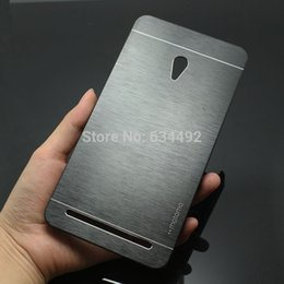 металлический корпус asus Скидка Wholesale-Motomo  Metal Brush Hard Case for Asus Zenfone 6 Aluminum Back Cover Capa Celular