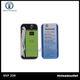Wholesale Itaste Box - Innokin Itaste MVP 20W Box Mod 2600mAh Capacity Itaste MVP V3 Original Innokin MVP Huge Capacity Battery with Variable Wattage 100% Original