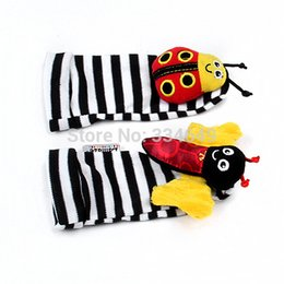 Wholesale Pair Lamaze - Wholesale-Lamaze Garden A pair of children's bell cartoon socks free shiping