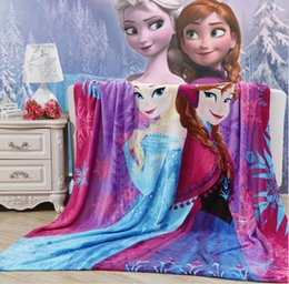 Wholesale Crib Bedding For Girls - Cartoon Princess Toddler Nap Mat Blanket 100*140CM Boys Girls Warm Blanket for Summer Autumn Winter 10p l Free Shiping
