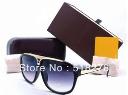 Wholesale Millionaire Sunglasses - Wholesale-Wholesale New EVIDENCE sunglasses Millionaire Sun Glasses men women sunglasses sunglasses Red