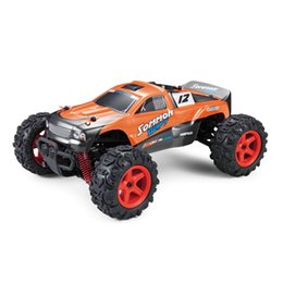 Wholesale 4wd Rc Trucks - RC CAR Desert Buggy Warhammer 4WD High Speed 30MPH Scale 50m Remote Control 30 Mins Playing Time 2.4GHZ RTR Electric Vehicle Buggy Truck
