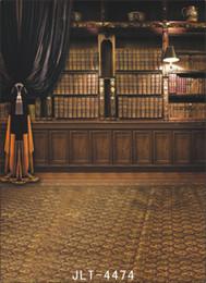 Wholesale Indoor Vinyl Backdrop Computer - Indoor and Floor theme Vinyl Muslin Photography Backdrops Prop Photo Studio Background JLT-4474