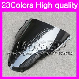 Wholesale Rs 15 - 23Colors Windscreen For Aprilia RS4 125 RS125 12 13 14 15 RS125RR RS 125 2012 2013 2014 2015 Chrome Black GPear Smoke Windshield