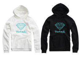 Wholesale Men Plus Size Hoodies - 2016 4 Colors Diamond Supply Co Men Hip Hop Hoodies Sudaderas Hombre Men Sweatshirt Hooded Female Skateboard Pullover Moleton Masculino