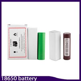 Wholesale E Cigarette Battery Kits - US Lg hg2 3000mah VTC5 2600mAh VTC4 2100mAh 18650 Li-ion battery for E cigarette smok alien 220w kit 0204105-3