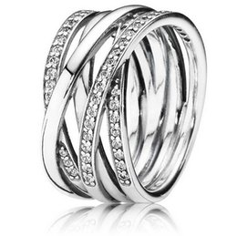 Wholesale Designer Silver Jewelry 925 - 925 Sterling Silver Ring Galaxy Egagement Ring Women Rings Fit for European designer jewelry