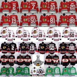 Wholesale Quick Drying - Chicago Blackhawks Jersey Hockey 2 Duncan Keith 19 Jonathan Toews 88 Patrick Kane Corey Crawford Patrick Sharp Brandon Saad Clark Griswold