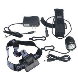 Wholesale Ultrafire Bicycle Light - UltraFire Bicycle Light CREE XM-L XML T6 LED 1800 Lm Bicycle bike Head Light Waterproof Headlight Bike Lamp + 8.4V 6400MAH Battery + Charger