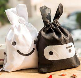 Wholesale Ninja Pouch Bag - fashion ninja rabbit Pouch Carry small travel storage bag Cartoon portable travel storage sundries bag