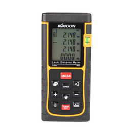 Wholesale Laser Level Meter - RZE-80 80m 262ft Digital Laser Distance Meter Range Finder Measure Distance Area Volume with Bubble Level Measure Measurer H11359