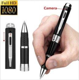 Wholesale Spy Usb Drive Video - HD 1080P Mini Hidden Cameras Pen Camcorder HD 1080P Mini Spy Pen Camera Covert Voice Video Recorder USB Flash Drive DV