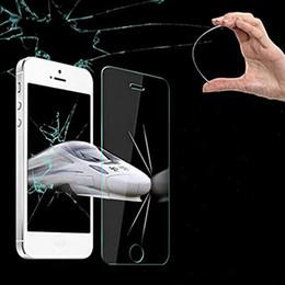 Vidrio templado para s4 online-Vidrio templado para Apple Watch 38mm / 42mm / Iphone 6 / Iphone 6 Plus Protector de pantalla Samsung S6 S6 Edge iPhone 5S Galaxy S4 S5 Note 3/4 100set