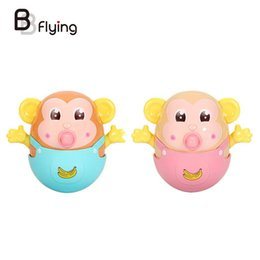 Wholesale Tooth Doll - Wholesale- Funny Multi Purpose Tumbler Toys Nipple Built-in Rattles Infant Teeth Doll